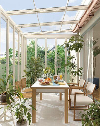 LIXIL ガーデンスペース ジーマ シリーズ 採光ルーフタイプ