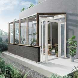 LIXILの「ガーデンルーム ココマ」